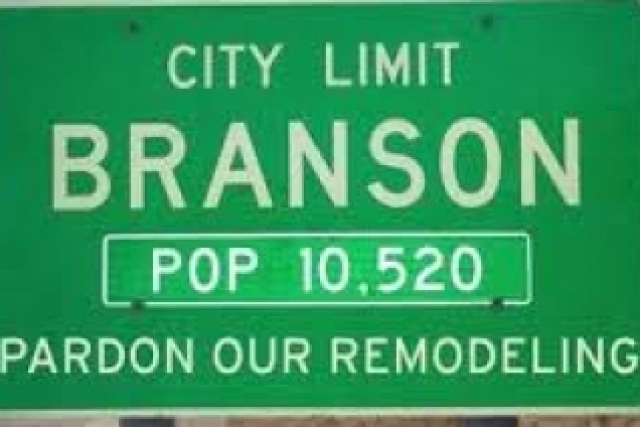 Branson is only 45 minutes away!